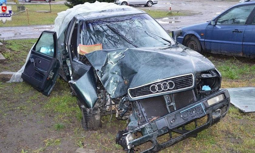 Tragiczny wypadek w Rudzieńcu