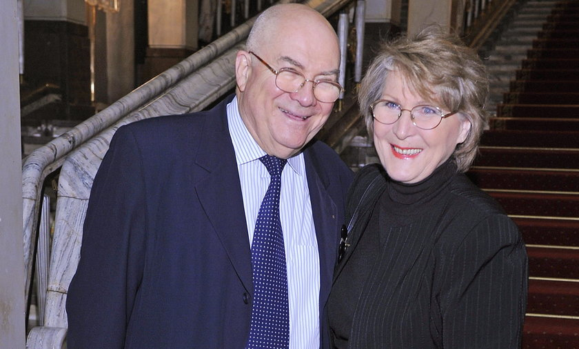 Irena Santor z mężem