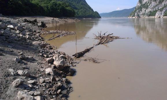 Đerdap: Preduzete su sve mere koje imaju za cilj brzo prihvatanje vode iz Save, Drine, Morave i drugih pritoka