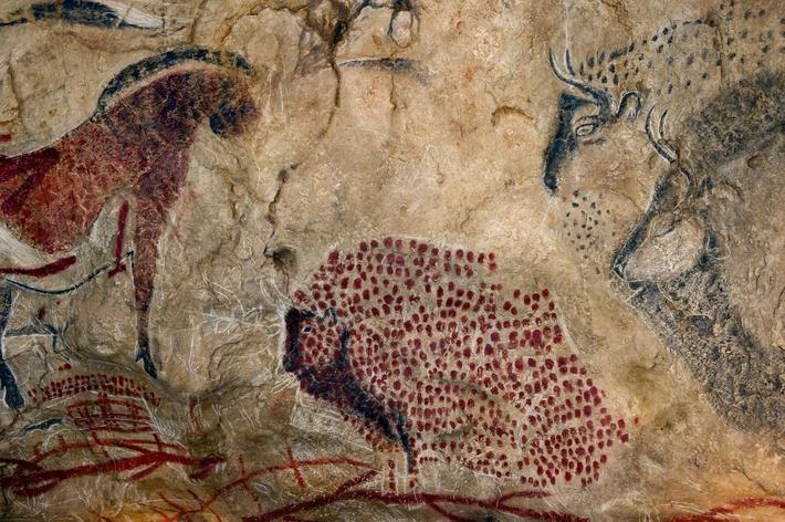 Marsoulas cave painting replica