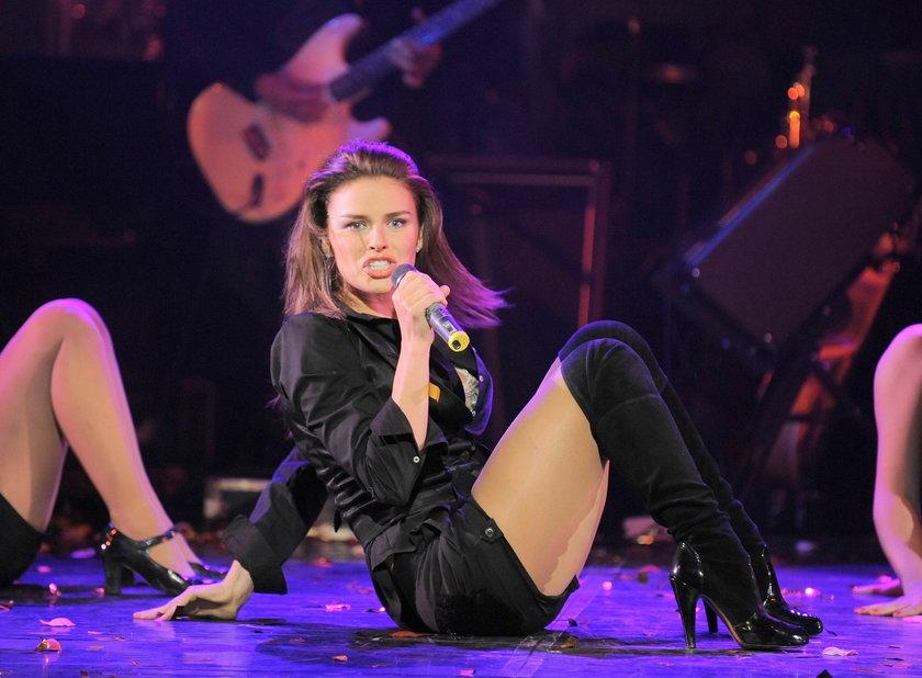 Natasza Urbańska na scenie