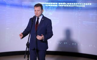 Błaszczak porównuje ustalenia szczytu Trump-Duda do przyjęcia Polski do NATO