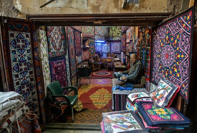 The craftsmen's shops were among the main draws for foreign visitors until the 2011 uprising that toppled longtime ruler Hosni Mubarak