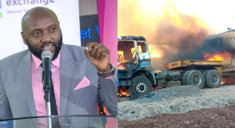 Politician Mwenda Thuranira condemns Chaotic Evictions in Isiolo
