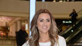 Opalona Karolina Szostak na imprezie Ducati Diesel