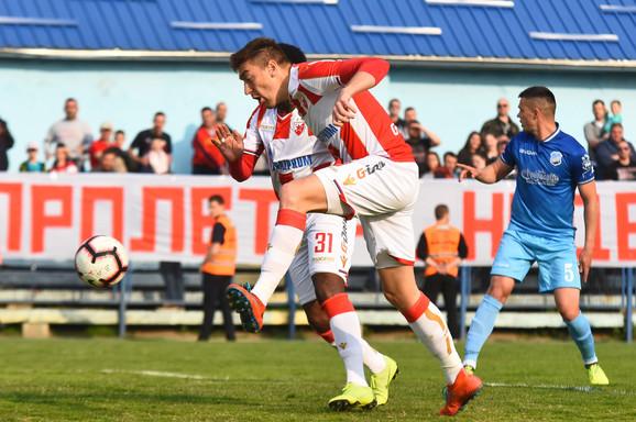 Milan Pavkov strelac prvog gola u pobedi od 3:1