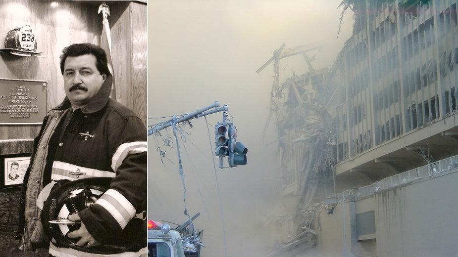 Stanley Trojanowski - polski strażak brał udział w akcji ratunkowej po zamachach na wieże WTC z 11 września 2001 r.
