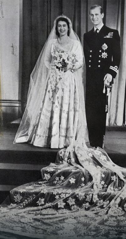 Ślub Elżbiety II i księcia Filipa