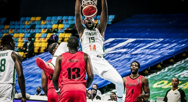 Sénégal vs Angola Afrobasket 2021