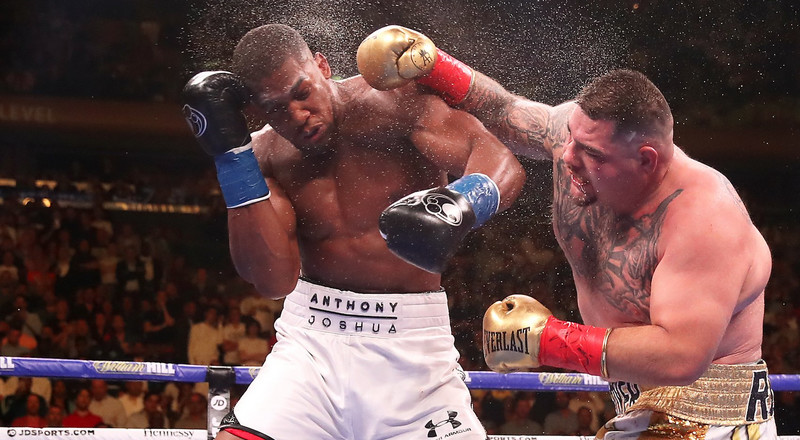 Anthony Joshua and Andy Ruiz Jr continue to disagree over the venue of heavyweight rematch