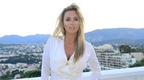Karolina Szostak na festiwalu w Cannes