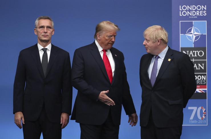 Boris Džonson, Donald Tramp