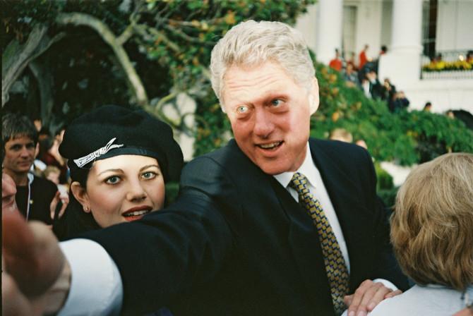 Monika Levinski i Bil Klinton
