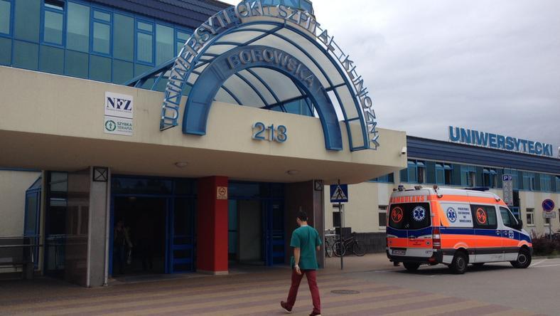Rozpoczął się remont SOR-u w szpitalu przy Borowskiej