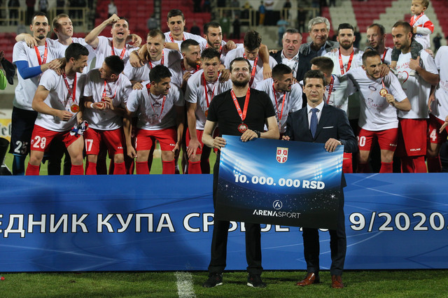 Nenad Lalatović i Marko Pantelić finale Kupa Srbije