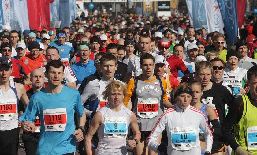 Biegacze opanują Warszawę
