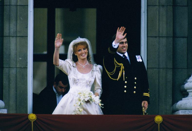 Ślub księcia Andrzeja i Sarah Ferguson
