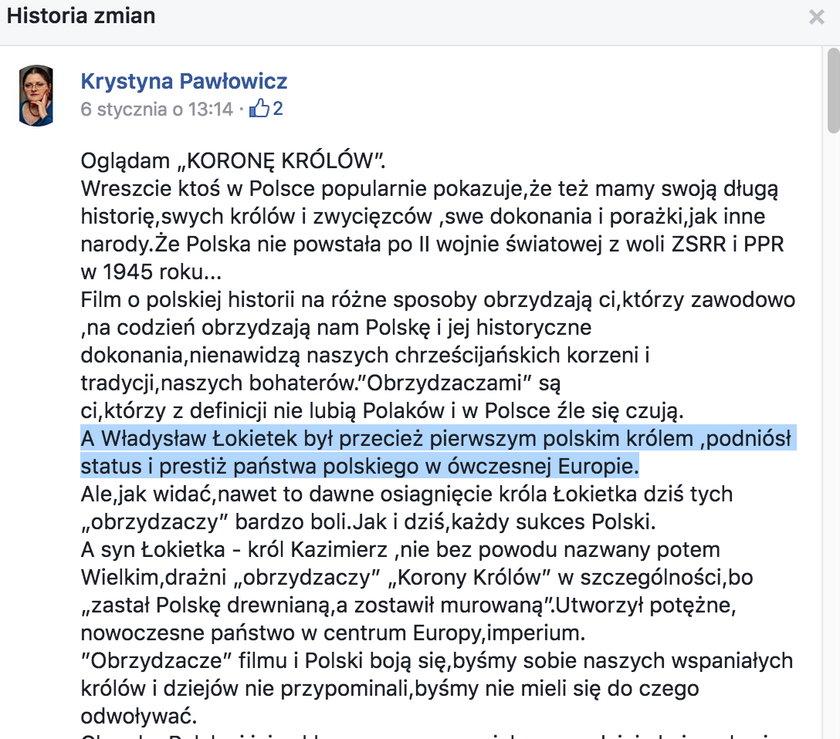 Kompromitacja Pawłowicz