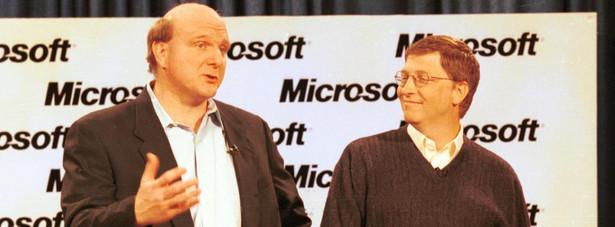 1980: Początki Ballmer dołącza do zespołu Microsoftu jako trzydziesty pracownik w firmie. Jest pierwszym business managerem zatrudnionym przez Billa Gatesa. Otrzymuje pensję w wysokości 50 tysięcy dolarów i od 5 do 10% udziałów w firmie.