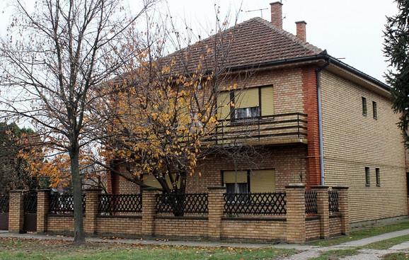 Kuća u kojoj je Dragan Zolnajić pronađen