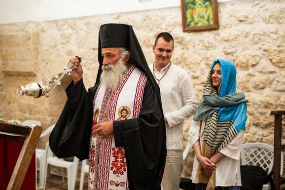 Aleksa Balašević - veridba u Jerusalimu