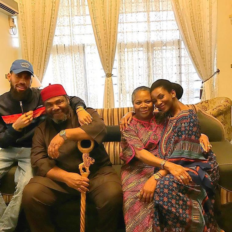 Phyno, Pete Edochie, Onyeka Onwenu, and Genevieve