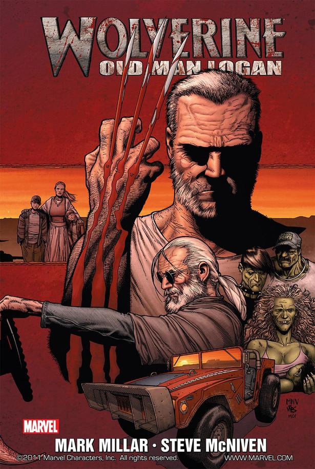 """""""Old Man Logan""""Alternatywna opowieść z przyszłości: elita superłotrów poluje na ziemskich superbohaterów. Jedyną nadzieją na ocalenie świata jest mocno podstarzały Wolverine. Ironiczny scenariusz Marka Millara (""""Kick-Ass"""") świetnie zilustrowany przez Steve'a McNivena."""