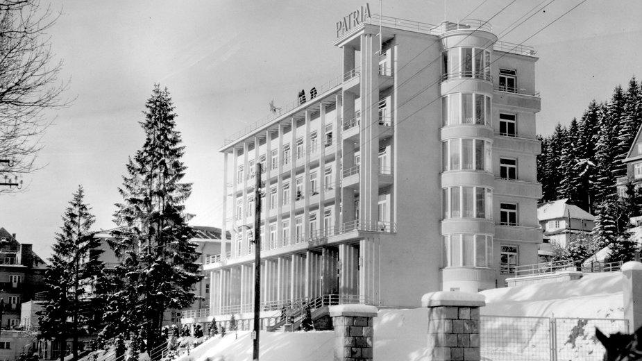 Hotel Patria w Krynicy