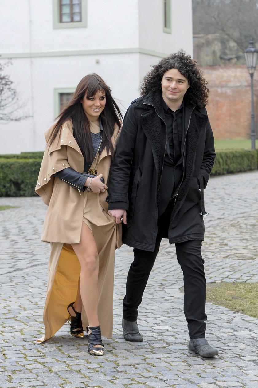 Ewa Farna z mężem Martinem Chobotem
