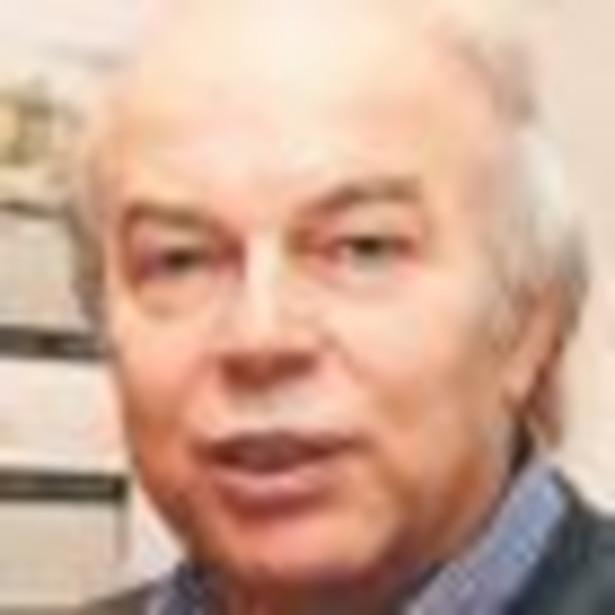 Leon Gradoń, profesor, Wydział Inżynierii Chemicznej i Procesowej Politechniki Warszawskiej Fot. Wojciech Górski