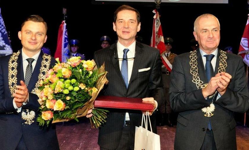 Przemysław Babiarz został Honorowym Obywatelem Miasta Przemyśla