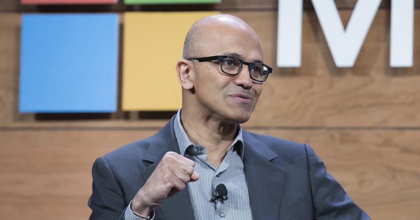 "Satya Nadella, prezes Microsoftu, napisał książkę - ""Hit Refresh"""