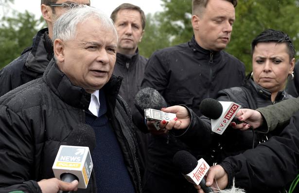 Jarosław Kaczyński. Fot. PAP/Darek Delmanowicz