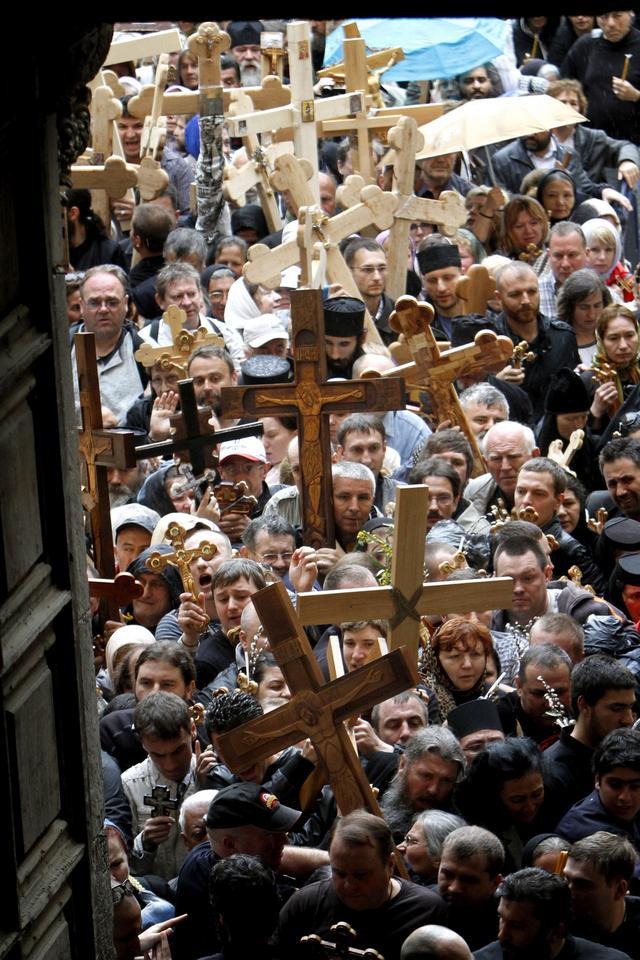 MIDEAST ISRAEL JERUSALEM HOLY WEEK