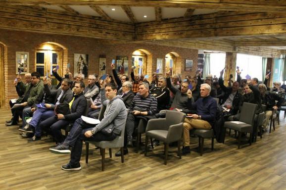 Delegati na izbornoj skupštini Kajakaškog saveza Srbije