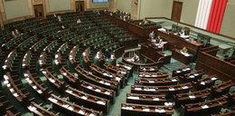 Debata o zdrowiu w pustym Sejmie