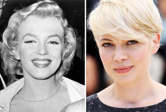Marylin Monroe i Michelle Williams