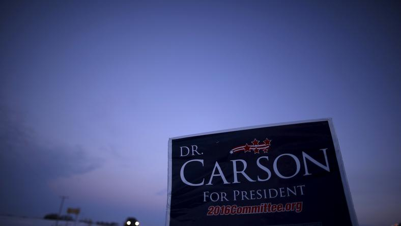 Carson cancels campaign events after staff in fatal car accident