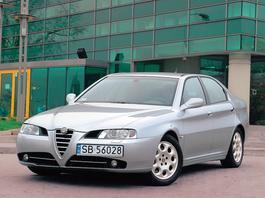 Alfa Romeo 166 2.4 JTD - z archiwum Auto Świata
