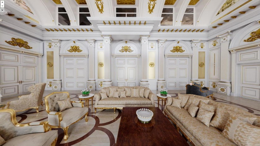 Nawalny ujawnił skrywane bogactwo Putina. Wnętrza tajnego pałacu prezydenta kipią od przepychu