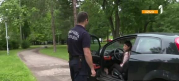 Situacija od prošlog petka: Komunalac nije pisao kaznu ženi koja je stala posred Topčiderskog parka
