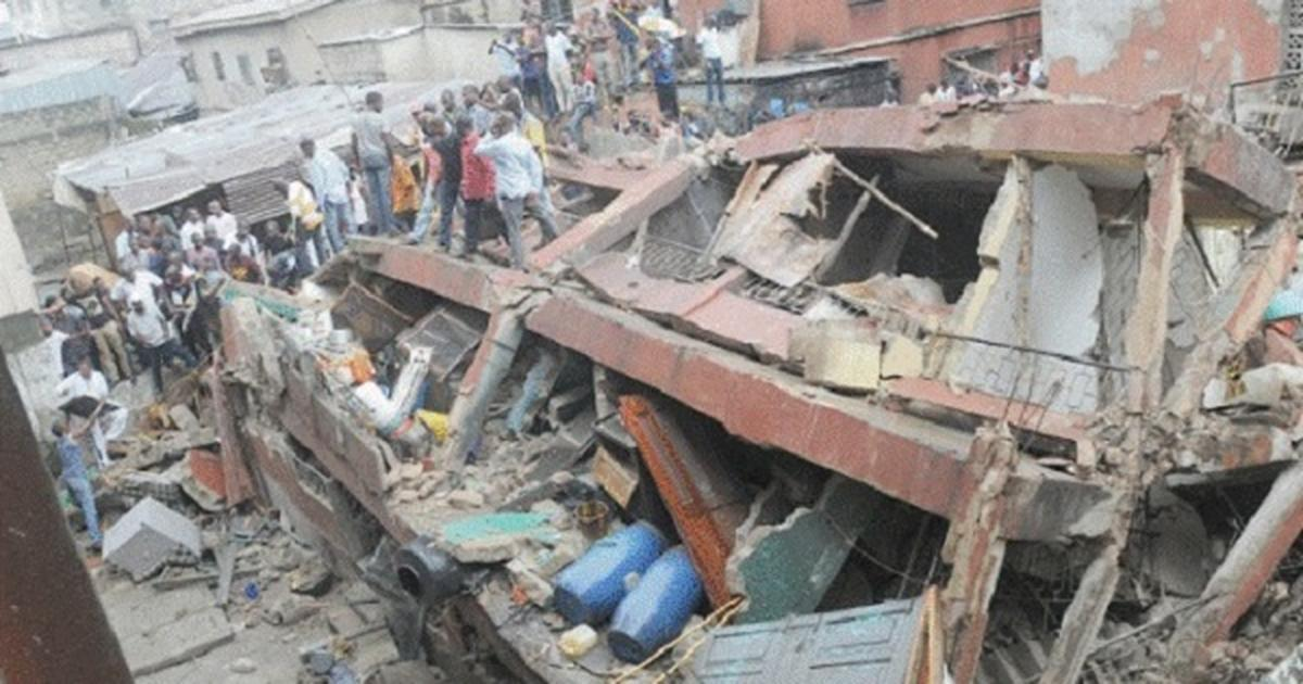 Police rescue couple from collapsed building in Jigawa