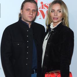 Agnieszka Woźniak-Starak z mężem na premierze filmu. Eleganccy?