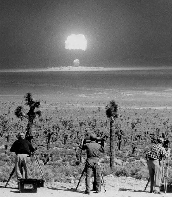 Nuklearna testiranja u Nevadi