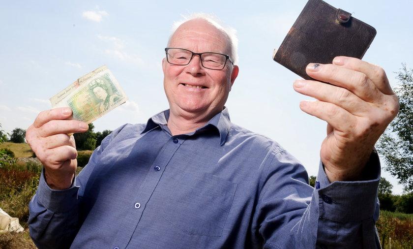 Derek Gamble odzyskal portfel po 30 latach