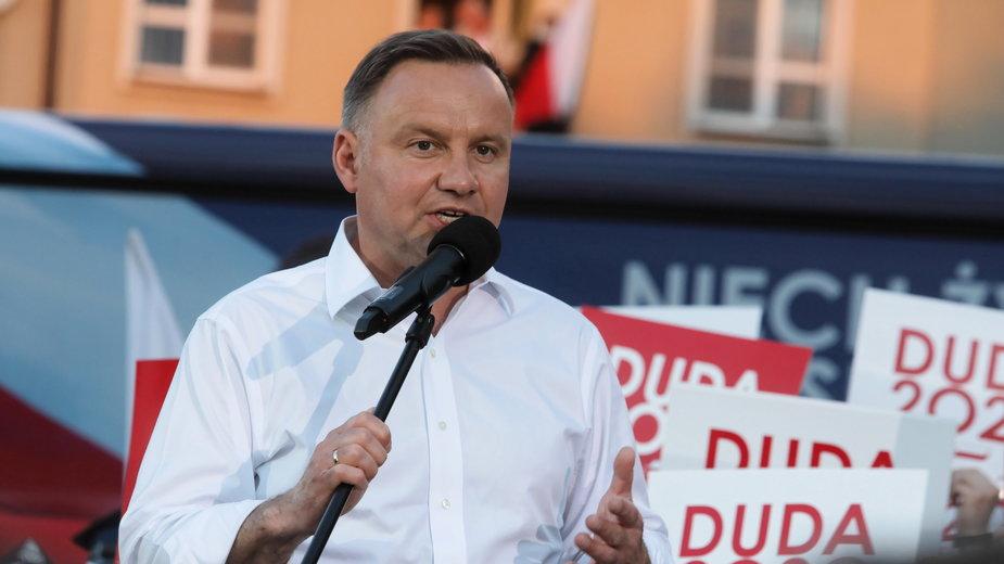 Andrzej Duda w Łomży