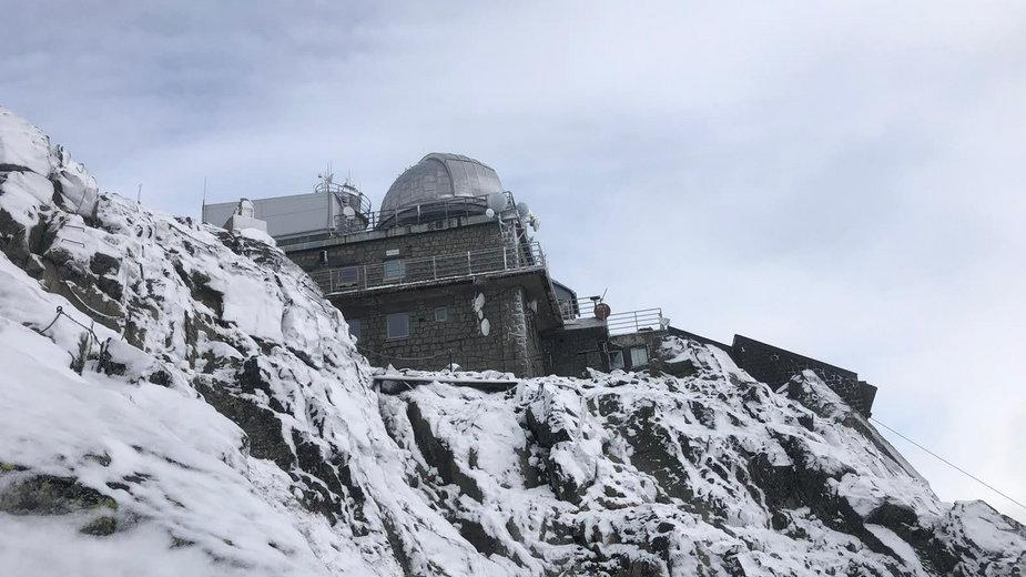 Szczyt Łomnicy - widok z trasy wycieczki