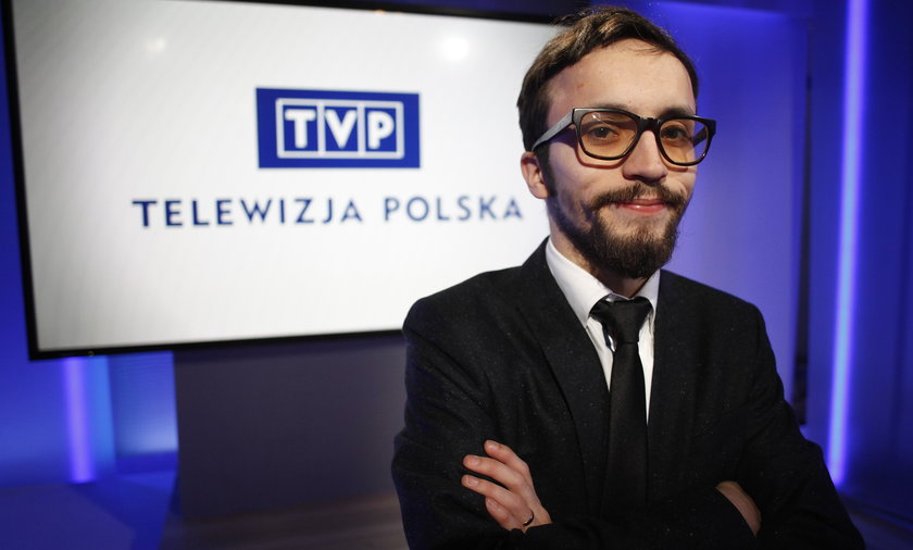 Samuel Pereira (32 l.) zrobił ostatnio błyskawiczną karierę w TVP.
