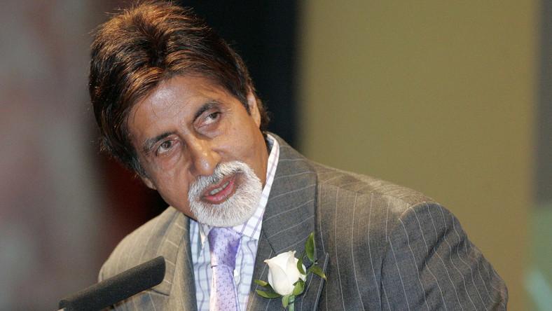 Legenda Bollywoodu Amitabh Bachchan