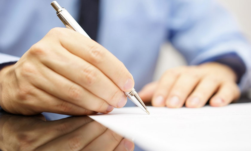 pisanie listy